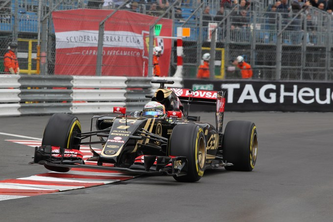Lotus contenta dopo le prime libere di Monaco