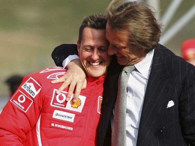 """Montezemolo nella Hall of Fame: """"Dedico il riconoscimento a Schumacher"""""""