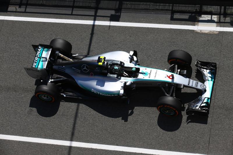 """Rosberg: """"Sono soddisfatto dei miei long run"""""""