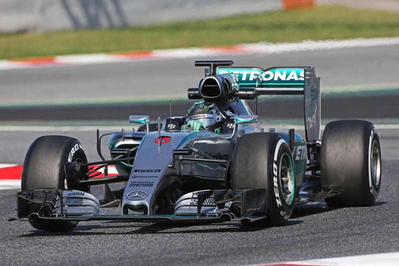 Test F1 Barcellona, giorno 1: Rosberg davanti al mattino