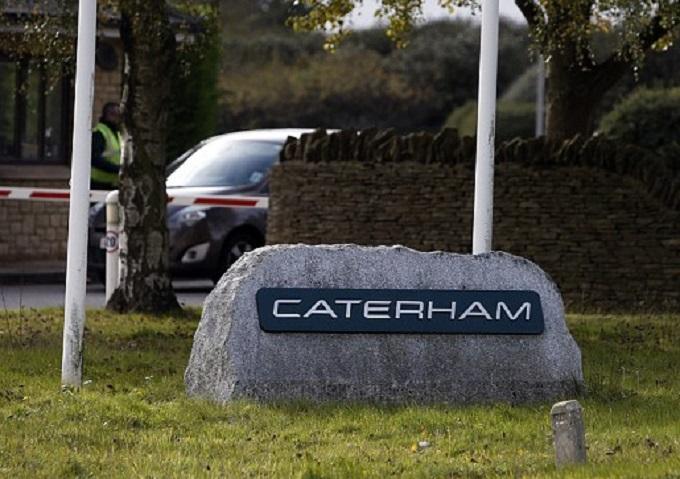 Gli amministratori della Caterham annunciano l'ultima asta