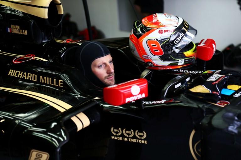"""Grosjean: """"Viste le condizioni dell'asfalto non ho voluto rischiare"""""""