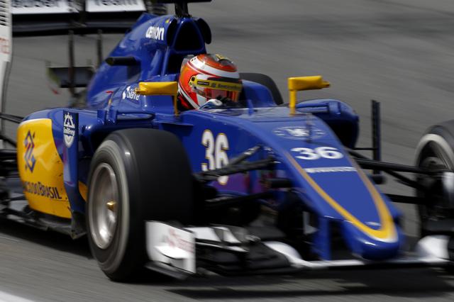 Marciello in pista nelle FP1 del GP di Gran Bretagna