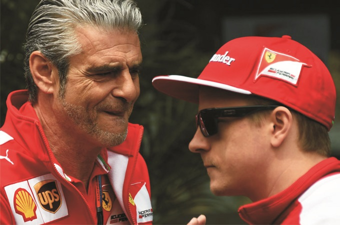 """Ferrari, Arrivabene: """"Il futuro di Raikkonen dipenderà da lui"""""""