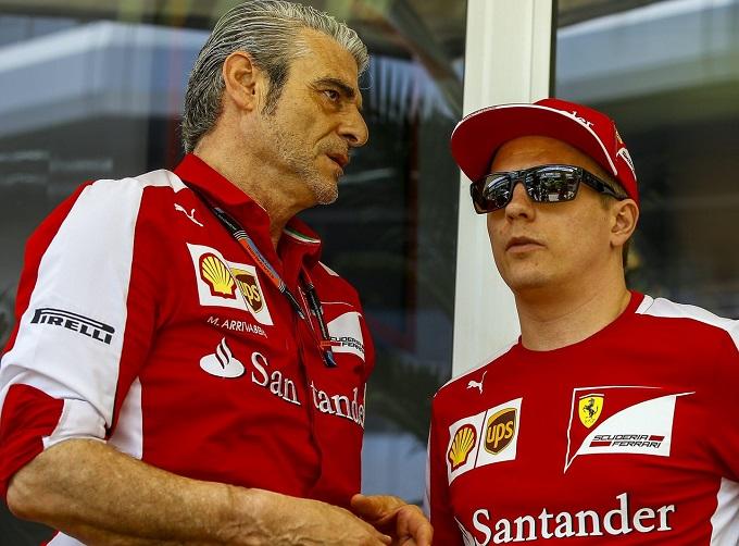 """Ferrari, Arrivabene: """"Raikkonen? Il futuro si conoscerà dopo Monza"""""""