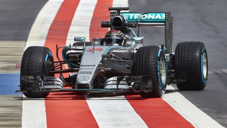 Mercedes al top anche con Wehrlein