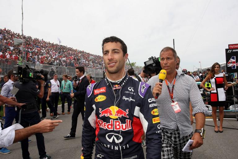 """Ricciardo: """"Al Red Bull Ring atmosfera da festival"""""""