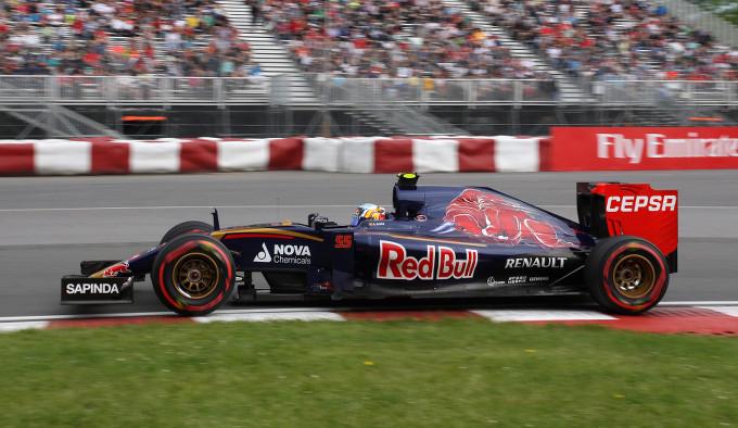 Toro Rosso: una giornata di prove libere difficile per Sainz e Verstappen a Montreal