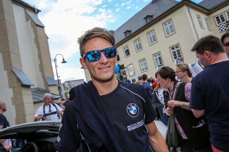 Wittmann con la Toro Rosso nei test austriaci