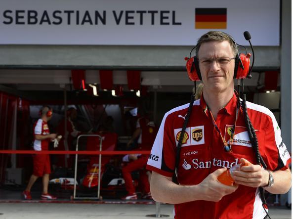 """Allison parla del proprio futuro: """"Voglio riportare al successo la Ferrari"""""""