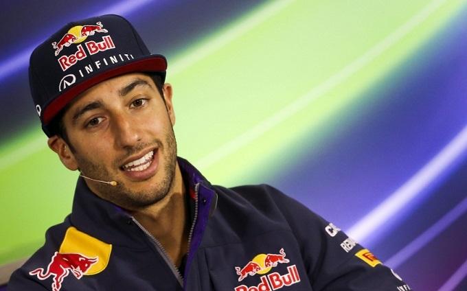 Daniel Ricciardo alla Race of Champions 2015