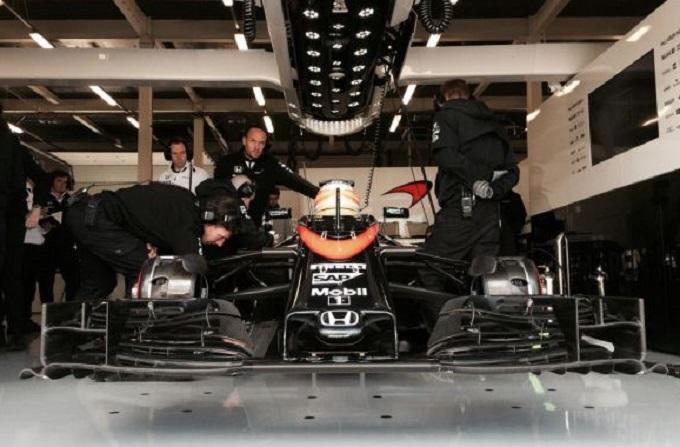 Formula 1, McLaren a Silverstone per un filming day