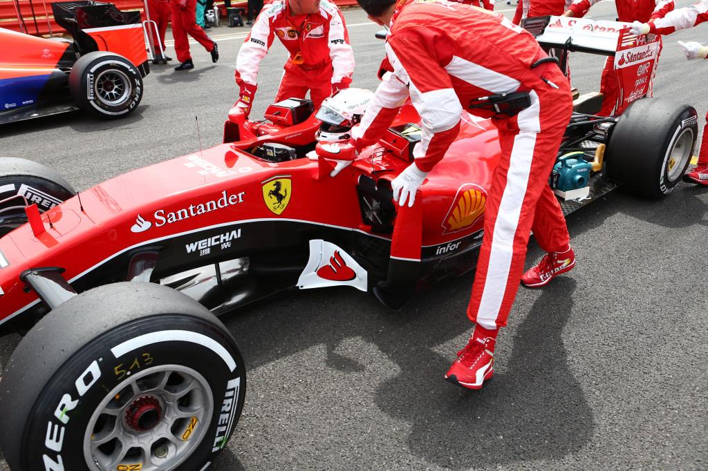 Ferrari: finalmente sospensione anteriore push-rod nel 2016