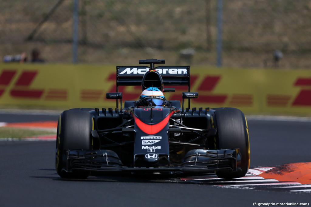 Mclaren-Honda, giornata da ricordare per Fernando Alonso e Jenson Button a Budapest