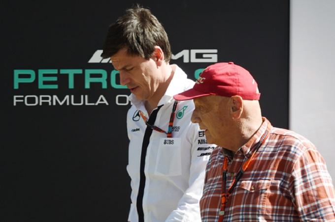 """Mercedes, Wolff: """"Complimenti alla Ferrari, avevano la macchina più veloce"""""""