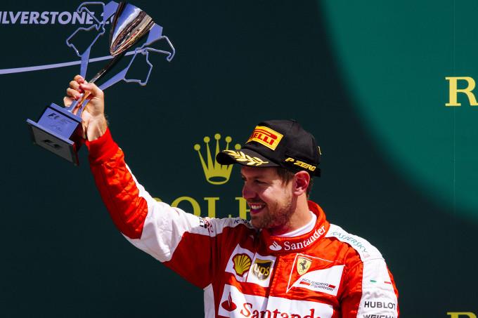 GP di Gran Bretagna – Vettel risale fino al podio, Raikkonen ottavo