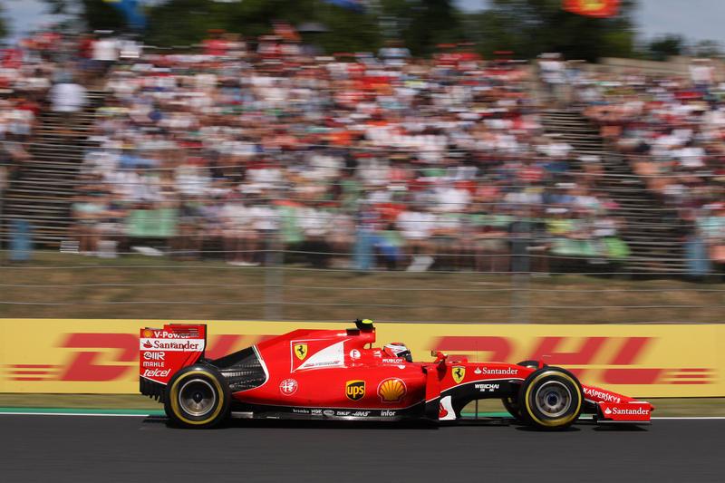 "Ferrari, Raikkonen: ""Meteo e gomme decisive a SPA"""