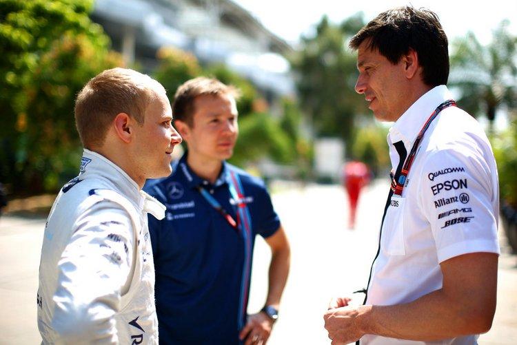 """Wolff: """"Le richieste economiche della Williams per Bottas non sono assolutamente fuori luogo"""""""