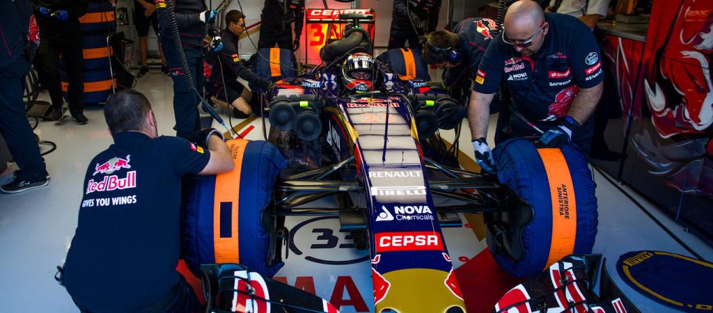Toro Rosso, qualifica agrodolce per Sainz e Verstappen in Belgio