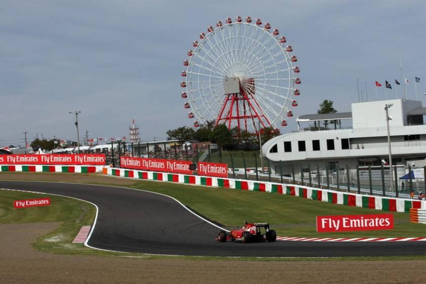 La programmazione Sky Sport F1 HD per il GP del Giappone
