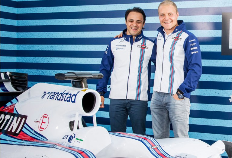Massa e Bottas confermati alla Williams