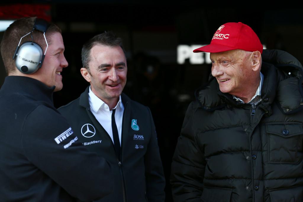 Mercedes preoccupata dall'asfalto di Sochi