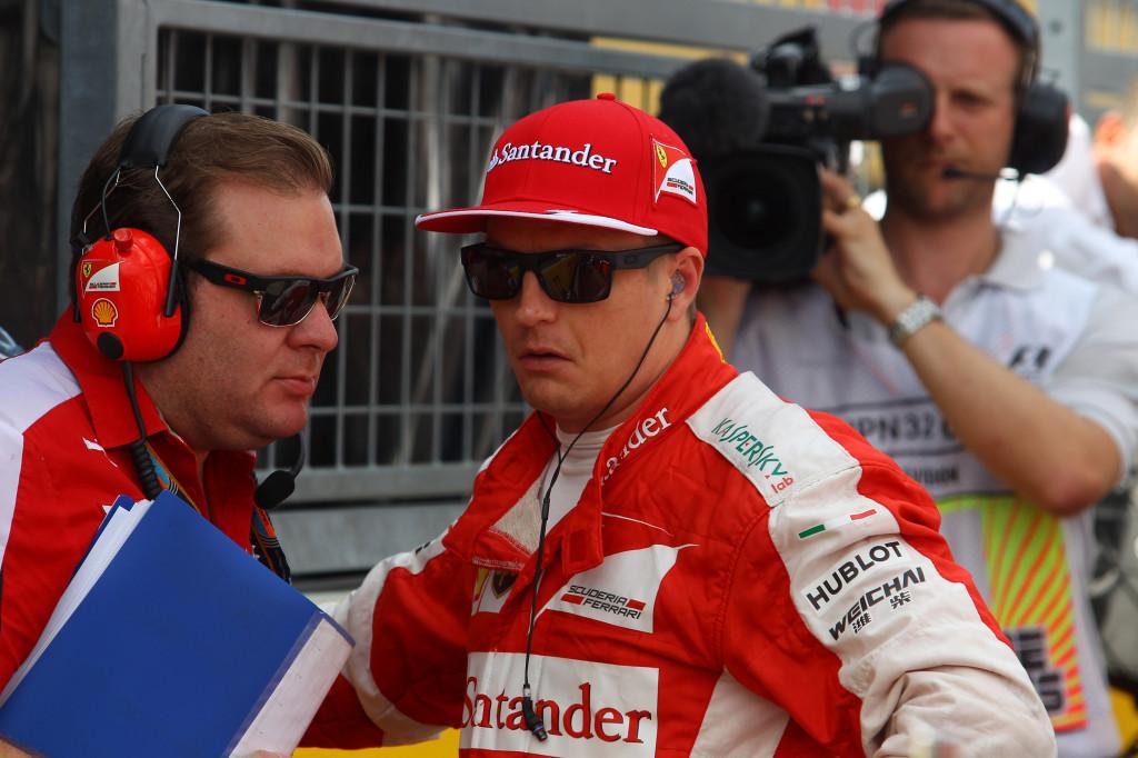 Ferrari, Kimi Raikkonen non esclude di restare oltre il 2016