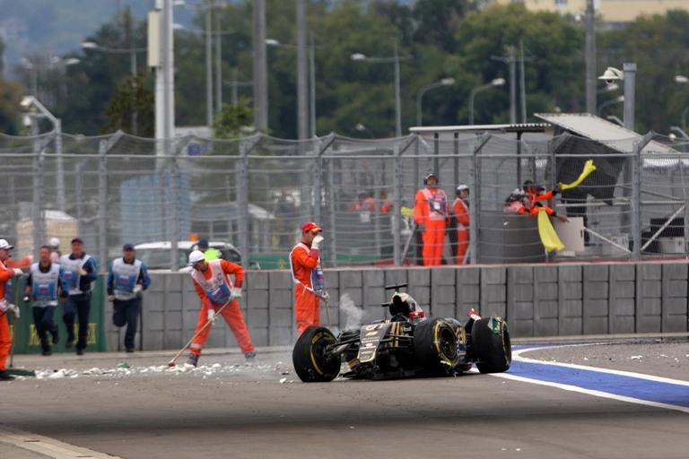 """Grosjean: """"L'incidente? Dovremo capire i motivi della perdita di controllo"""""""