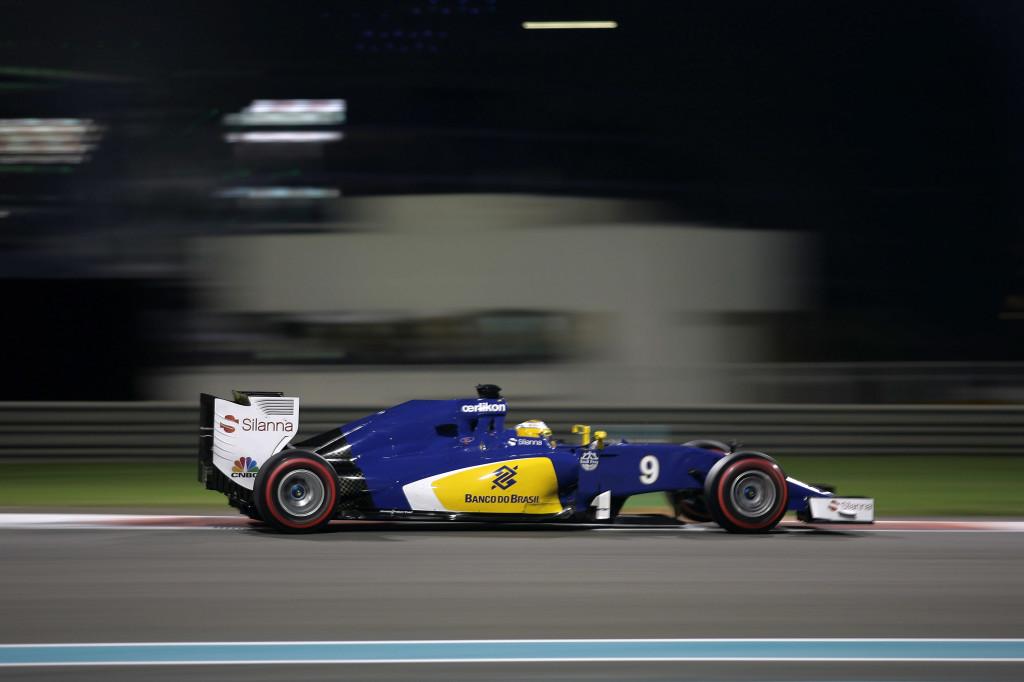 Sauber in difficoltà nelle libere di Abu Dhabi