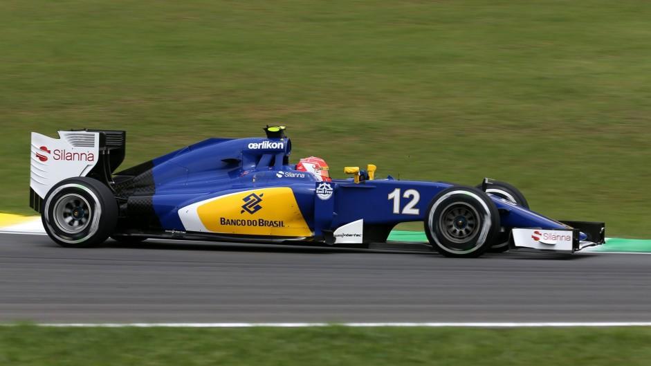 "Sauber, Nasr: ""Incredibile guidare davanti ai tifosi brasiliani"""