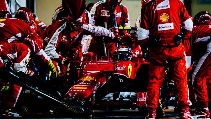 GP Abu Dhabi, Ferrari: Terza posizione per Kimi. Per Seb un quarto posto di rimonta