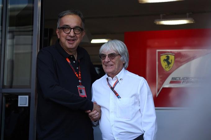 """Ferrari, Marchionne: """"Team hanno bisogno di maggiore liquidità per affrontare 21 gare"""""""