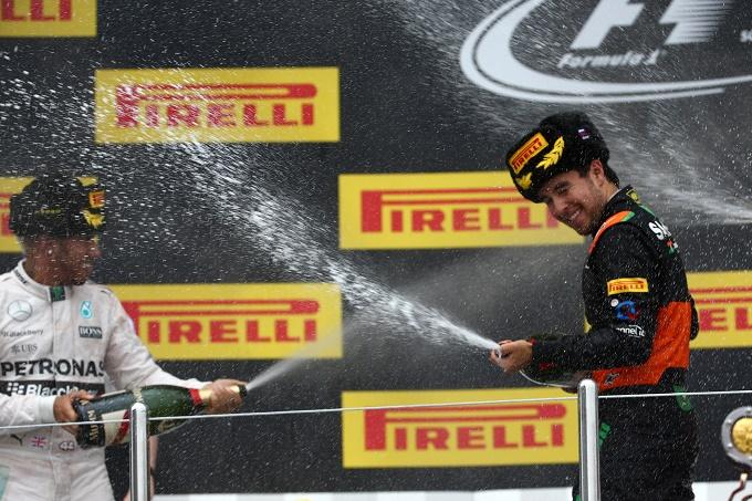 Lo champagne Mumm si congeda dal mondo della F1