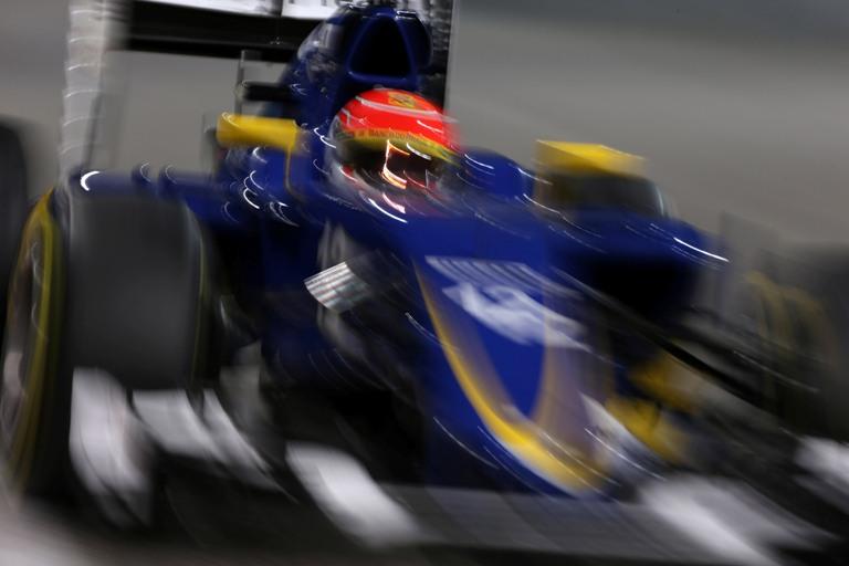 La nuova Sauber in pista nel secondo test di Barcellona
