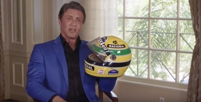 """Stallone: """"Senna mi chiese di girare un film su di lui"""""""