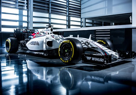 Williams, presentata la nuova FW38