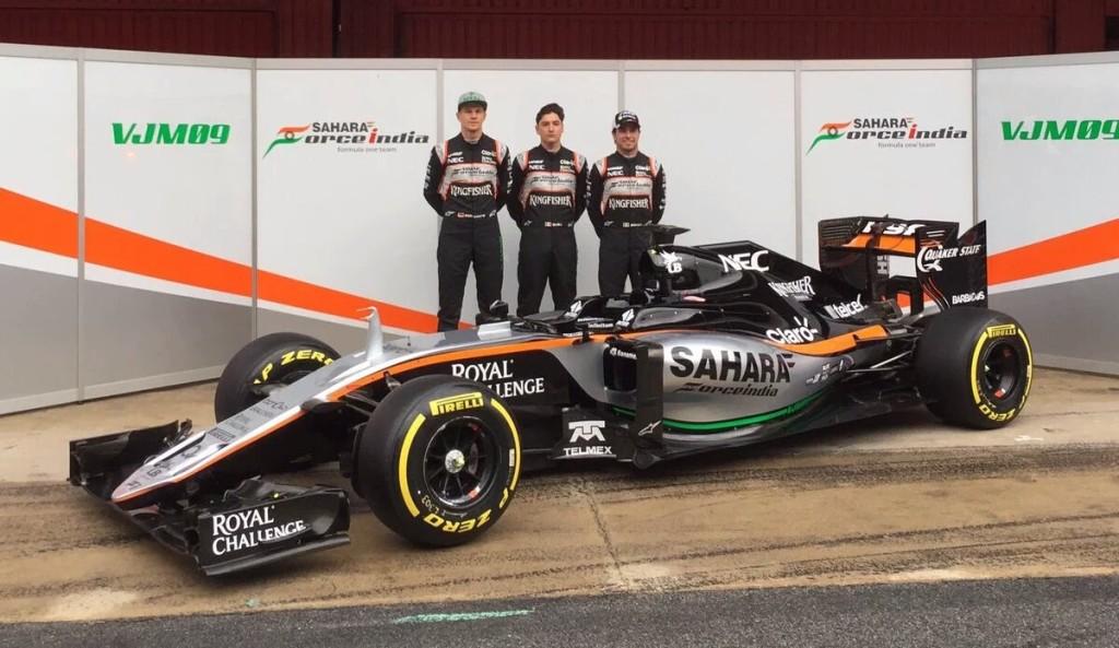 F1, Force India VJM09: presentata la nuova  monoposto prima dei test