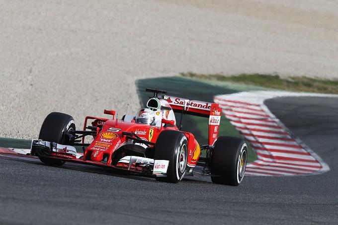 """Ferrari, Vettel ancora al top: """"C'è ancora tanto lavoro da fare, ma la SF16-H risponde bene"""""""