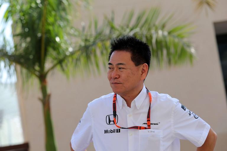 McLaren Honda,  Arai esce dal progetto F1