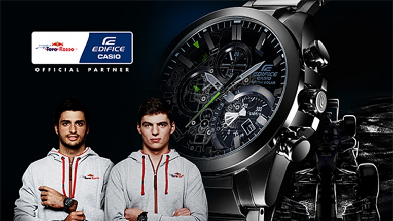 Toro Rosso firma un accordo di sponsorizzazione con la Casio
