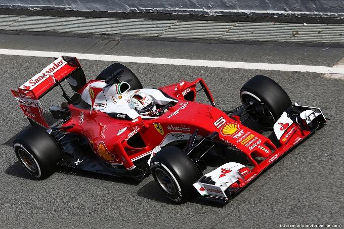 Test Ferrari al Montmelò: Vettel inizia lo svezzamento della SF16-H