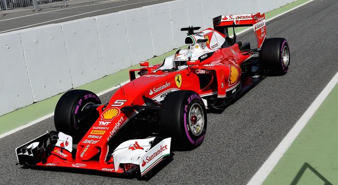 Ferrari: Sebastian Vettel collauda la nuova mescola Pirelli