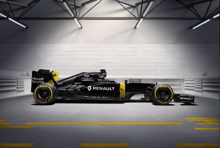 Nato il Renault Sport F1 Team