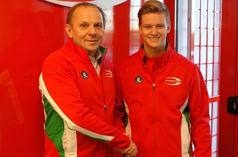 Schumacher Jr. firma con la Prema