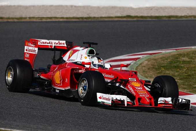 """Ferrari, Vettel: """"Soddisfatto dei progressi della SF16-H"""""""