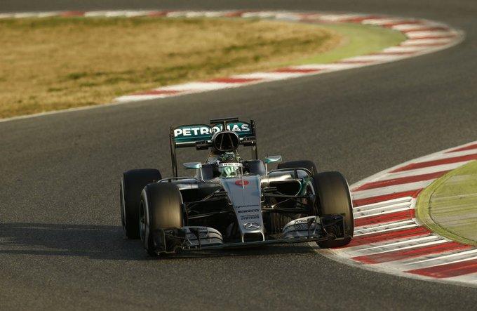 Test F1 Barcellona 2, prima  giornata: Rosberg si fa sentire al mattino