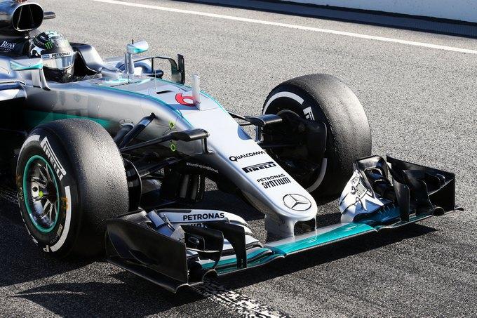 Test F1 Barcellona 2, prima  giornata: Nessuno raggiunge Rosberg