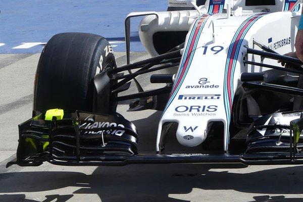 Williams, Massa in pista con il nuovo muso