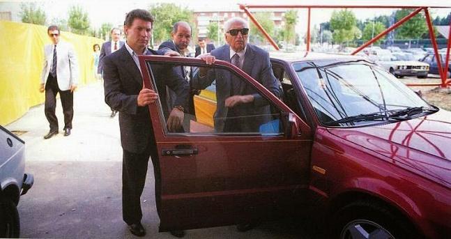 Si è spento Dino Tagliazucchi, l'autista personale di Enzo Ferrari