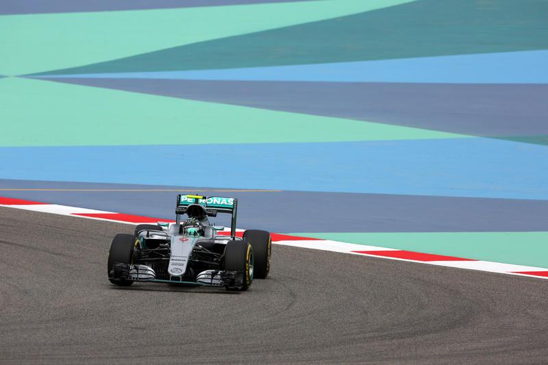 F1 GP Bahrain, Prove Libere 2: Rosberg da record